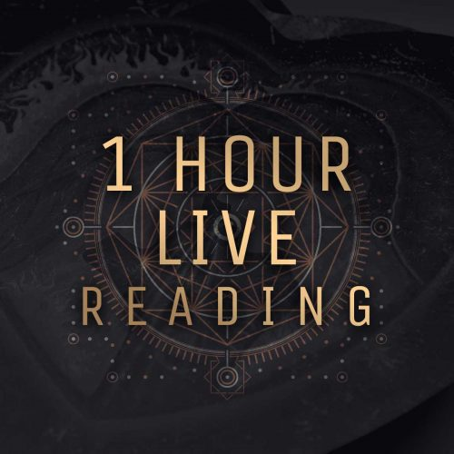 1 Hour Live Tarot Reading